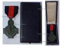 Belgium WW1 Yser Battle Commemorative Cross 1914 1918 Boxed by Galere
