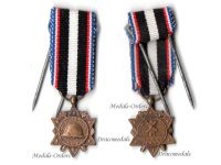France WW1 Aisne Chemin Dames French Military Medal 1914 1918 WWI Military Decoration Great War MINI