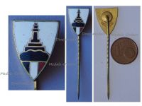 Germany WW1 Prussia Lighthouse Kyffhauser Land Forces Veterans Stickpin Marked Ges. Gesch